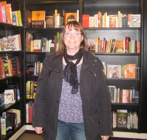 Jag i Europas största bokaffär - Waterstones vid Piccadilly