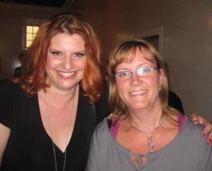 Simona Ahrnstedt och jag :-)