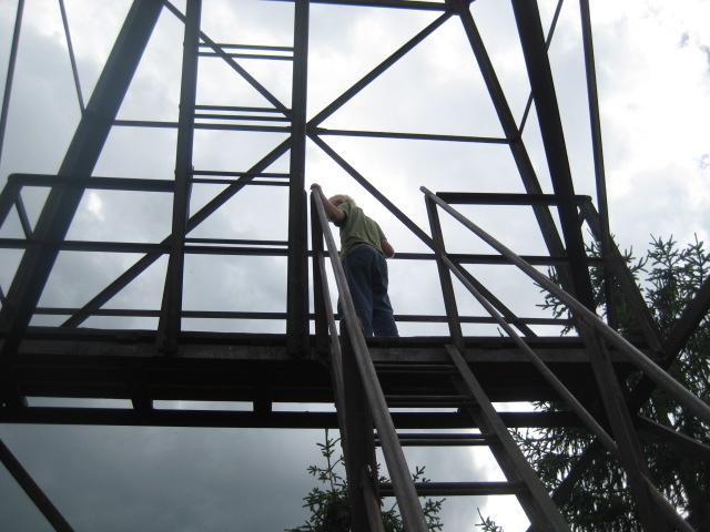 Utkikstornet - inget för höjdrädda!