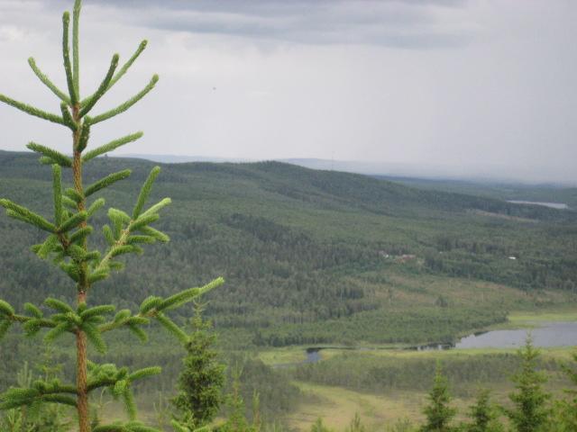 Utsikt från Himmelsberget.